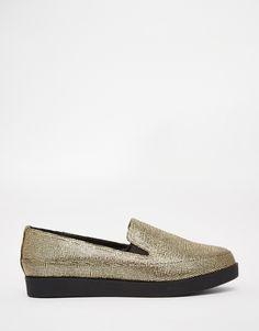 Image 2 ofASOS MOLLY ROSE Flat Shoes