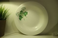 Lovely vintage portmeirion herb garden all purpose plate by LilyasminStudio on Etsy