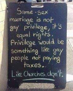 """354 Likes, 20 Comments - Join the Revolution! (@godlessrevolution) on Instagram: """"Say it louder for the folks in the back. #lgbt #lgbtq #gay #bisexual #bi #pansexual #loveislove…"""""""
