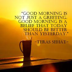 Selamat pagi sahabat sehat.. Semoga hari ini lebih baik daripada hari kemarin ya sahabat.. #terassehat #terassehatdotcom #morning #memepagi #memeindonesia #meme