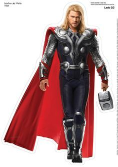 159 Best Thor Printables Images Thor Avenger Party