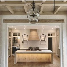 This came up in my feed today and I am insane for it. Kitchen by @bynumhomes Please can I move in! #dreamhome #kitchendesign #architecture #instadesign #interiors #woodworking #wooddetails #luxuryhome #interiors #designinspo #styleinspo #cabinets #ceiling #lighting #millwork