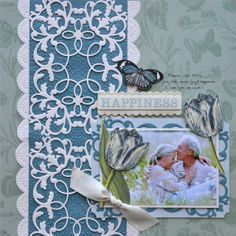 it happened like this...: anna griffin cutting dies: scrapbook pages