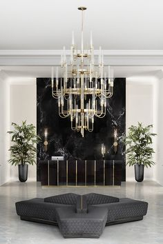 Combining the modern age and luxury, the Gala Chandelier is a revival experience from the palatial apogee. Made with brass and clear crystal glass, this imposing item is perfect for any entrance or ball room. Luxury Restaurant, Good Cigars, Foyer Design, Center Table, Eden Center, Big Design, Top Interior Designers, Simple House, Luxury Living