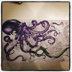 animorphia colored octopus - Google Search