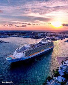 Protecting Your Health While Aboard a Cruise Ship Royal Cruise, Royal Caribbean Cruise, Allure Of The Seas, Harmony Of The Seas, Aerial Drone, Drone Photography, Sailing, Places To Visit, Ocean