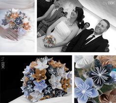 Parce que ce sont les petits détails qui font toute la différence…n°6   A chaque mariage son bouquet ... Geraldine Bertrand Photographe Reims -byBBK- bouquet de papier