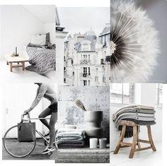 un due tre ilaria⎟interiors design styling: MONDAY MOOD BOARD ⎬CHIC GREY