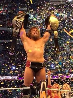 Daniel Bryan is the new WWE World Heavyweight Champion yes yes yes!