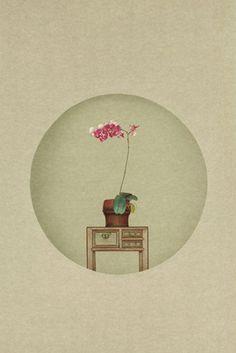 重現中國文人繪之美的攝影詩人 孫郡 » ㄇㄞˋ點子靈感創意誌.        Small flower -- photography for new literati painting