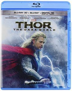 Thor: The Dark World (3D Blu-ray + Digital Copy + Blu-Ray) Chris Hemsworth, Tom Hiddleston, Christopher Eccleston, Natalie Portman, Idris Elba