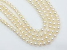 Ivory South Sea Pearls Natural Pearls Original by gemsforjewels