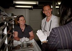 Tom Hiddleston guest of The Hungarian National Museum's Historical Photographic Collection. Budapest.