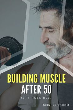 Building Muscle after 50 is certainly not impossible. If you follow our tips then you will be able to gain both muscle and strength even during your 50s.