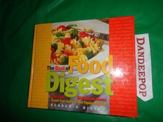 The Best of Food Digest Readers Digest 1997 Book find me at www.dandeepop.com