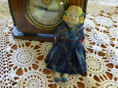 Vintage German Girl Bisque and Fabric Doll Made in Japan, Vintage Doll, Gift for Children or Doll Collector, Christmas Gift, Vintage Gift by MuskRoseVintage on Etsy