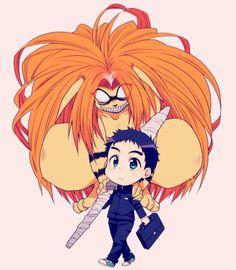 Ushio to Tora Anime Chibi, Manga Anime, Mickey Mouse Background, Ushio To Tora, Samurai Champloo, Durarara, Sword Art Online, Pokemon, Neverland