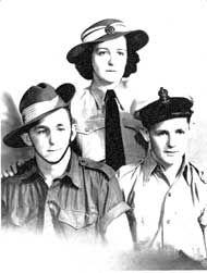 Wagner family Nundah - WW2 - Australia
