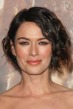 Lena Headey-Celebrity Inspired Short Haircuts for Women Over 40