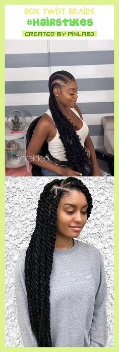 Box twist braids #twist #braids Box Twist Zöpfe ; tresses torsadées ; trenzas de caja ; twist braids senegalese, twist braids hairstyles, twist braids for black women, twist braids faux locs, twist braids white girl, twist braids on natural hair, short twist braids, twist braids for kids, twist braids tutorial, two strand twist braids, goddess twist braids, rope twist braids, passion twist braids, spring twist braids, medium twist braids Medium Twist Braids, Rope Twist Braids, Box Twists, Short Twists, Natural Hair Braids, Natural Hair Styles, Twist Braid Tutorial, Goddess Twist, Spring Twists