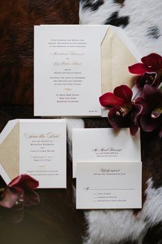 William Arthur Wedding Invitations | photography by http://heathernanphoto.com |  floral, wedding planning + event design by http://allisonbaddley.com/