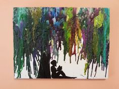 Crayon Art would love to do this with just a tree.