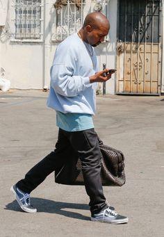 Kanye-West-Bottega-Veneta-bag-Vans-sneakers-3