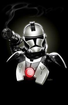 Star Wars: Warmachine Clonetrooper by Jon Bolerjack and J.J. Kirby