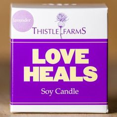 Soy Candle: Lavender - Thistle Farms