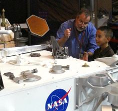 'Caine's Arcade' Star Visits NASA Scientist Who Built Cardboard Rockets When He Was a Kid - The Informer