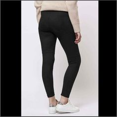 NWOT Topshop Suedette Leggings _ Size 0 Black Brand new Topshop Suedette Leggings. In color black size 0. Very comfortable and stretchy material. Original retail $50 Topshop Pants Leggings
