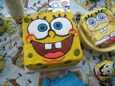 SpongeBob cake diy easy make at home