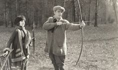 Vintage archery image, man drawing bow with woman watching Best Hobbies For Men, Hobbies For Adults, Hobbies To Take Up, Popular Hobbies, Hobbies For Couples, Cheap Hobbies, Hobbies That Make Money, Fun Hobbies, Archery Lessons