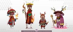 Forgotten Forest Characters on Behance