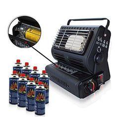 RSonic chauffage au gaz ਭ x; céramique radiateurs gaz Chauffage pour Tente Extérieur camping-car matériel de camping ਭ x; Cartouches de gaz…