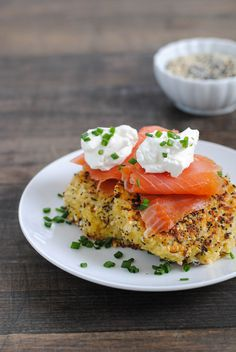 Everything Bagel Quinoa Cakes
