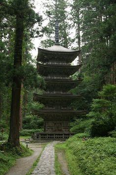 Haguro, Dewa Sanzan, Yamagata.