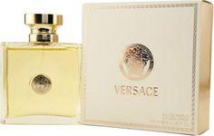 Versace Signature by Gianni Versace For Women. Eau De Parfum Spray Launched by the design house of Gianni Versace in VERSACE SIGNATURE is a women's fragrance that possesses a blend of Moroccan cedar wood, azalea, jasmine, kashmir wood, musk Versace Gifts, Versace Fashion, Women's Fashion, Gianni Versace, Versace Versace, Versace Fragrance, Best Perfume, Parfum Spray, Fragrance