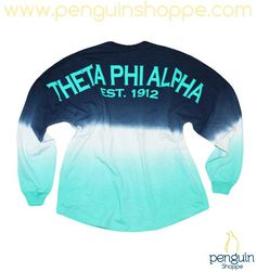 Penguin Shoppe Spring Break Style Spotlight! The Blue Dip Dye Spirit Jersey is our new favorite statement piece!