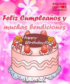Deséale un feliz cumpleaños a tus amigos con estas lindas imágenes, verás que les encantarán ;) ¡Suscríbete! ♥
