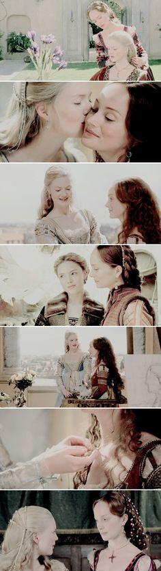 "Giulia Farnese + Lucrezia Borgia: ""We are friends already."""
