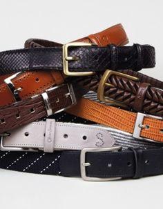 Huge range of mens designer belts! Men Accesories, Accessories, Designer Belts, Fashion Advice, My Style, Sweet Style, Men's Belts, Gentleman, Men's Shoes