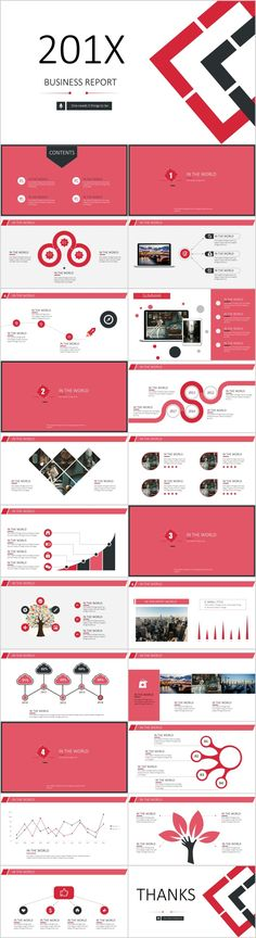 23+ red business report PowerPoint templates  #powerpoint #templates #presentation #animation #backgrounds #pptwork.com#annual#report #business #company #design #creative #slide #infographics #charts #themes #ppt #pptx#slideshow#keynote#office#microsoft#envato#graphicriver#creativemarket Simple Powerpoint Templates, Best Powerpoint Presentations, Professional Powerpoint Templates, Keynote Template, Infographic Powerpoint, Business Design, Business Company, Creative Business, Online Templates