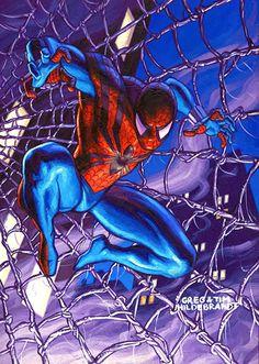 Spider-Man by Greg and Tim Hildebrandt