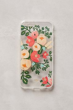 Spring Safari iPhone 6 Case #anthropologie From Rifle Paper Co. and Paper Crown
