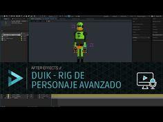 DUIK - Rig de Personaje Avanzado Para Descargar - YouTube