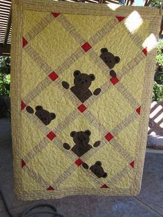Cute Bear Quilt! by NeedledMom