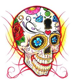 tatuaje calavera mexicana 107