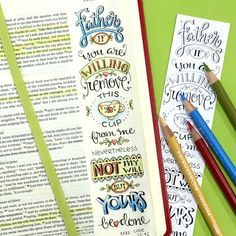 NEW Luke 21-24 Bible Journaling Color Your Own di karladornacher