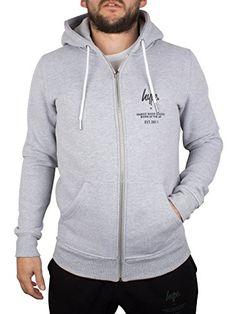 Hype Men's Logo Zip Hoodie, Grey Hype Clothing, Man Logo, Zip Hoodie, Hooded Jacket, Hoodies, Grey, Jackets, Clothes, Fashion